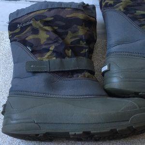 Columbia Camo Waterproof Boots